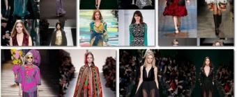 Przegląd Trendów jesień/zima 2014-2015 lansowany przez największe domy mody