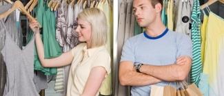 Zakupy z kobietą - męski koszmar!