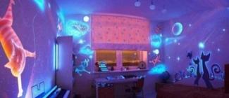 Odmień wnętrze swojego domu - święcąca farba w ciemności trendem na 2015
