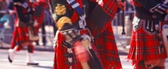 Zabawa karnawałowa w stylu szkockim